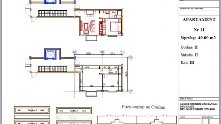 Apartament 1+1 - Shitje Rruga Mustafa haska