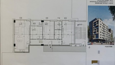 Apartment 3+1 - For sale Rruga Sali Butka