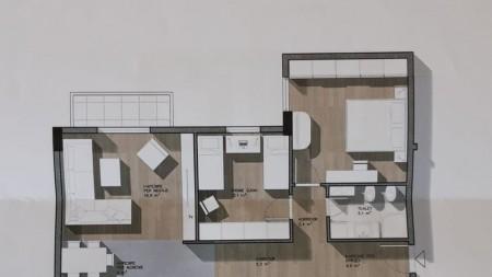 Apartament 2+1 - Shitje Rruga Jordan Misja