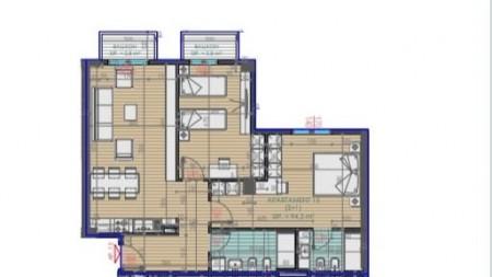 Apartament 2+1 - Shitje Rruga Feizi Himzo