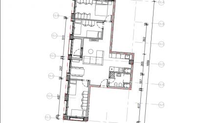Apartament 3+1 - Shitje Rruga Pasho Hysa
