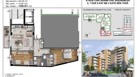 Apartament - Shitje Rruga Çerçiz Topulli