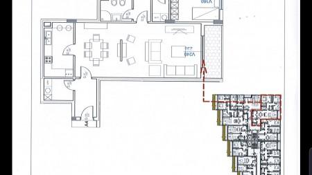 Apartment 3+1 - For sale Liqeni Thatë