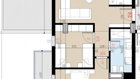Apartment 2+1 - For sale Rruga Stavri Themeli