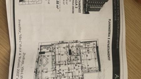 Apartment 2+1 - For sale Rruga Loni Ligori