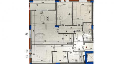 Apartament 3+1 - Shitje Rruga e Dibrës