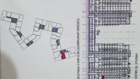 Apartament 2+1 - Shitje Rruga e Dibrës
