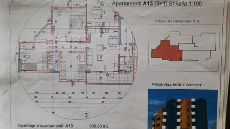 Apartament 3+1 - Shitje SH54
