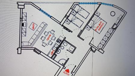 Apartament 2+1 - Shitje Rruga Aleksander Konda