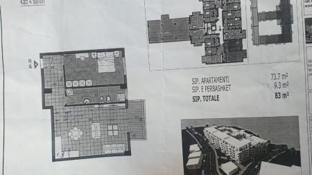 Apartament 1+1 - Shitje SH54