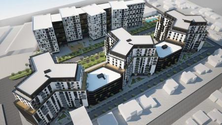 Apartament 3+1 - Shitje Rruga Dritan Hoxha