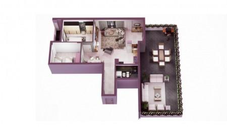 Apartament 2+1 - Shitje Rruga Ardeno
